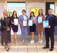 Награждение ко Дню молодежи на аппаратном совещании Главы Мариинского района
