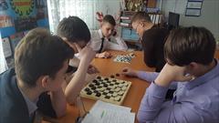 Общеколледжный турнир по русским шашкам