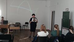 Встреча с региональным координатором благотворительного  фонда «Эвен-Эзер» по социальной помощи и поддержке еврейского народа, Татьяной Петровной Дудиной